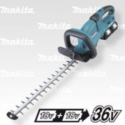 MAKITA Aku plotostřih 550mm Li-ion 2x18V/3,0Ah