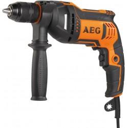 AEG Bezpříklepová vrtačka BE 750 RE