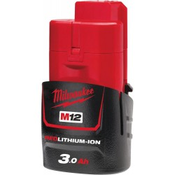 MILWAUKEE Baterie M12B3 - 12 V / 3,0 Ah - Li-Ion