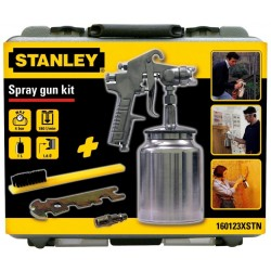 STANLEY Sada stříkací pistole + příslušenství 160123XSTN