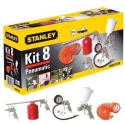 STANLEY 8-dílný KIT BOX pneu nářadí 9045671STN