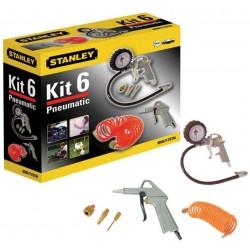 STANLEY 6-dílný KIT BOX pneu nářadí 9045717STN