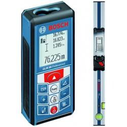 BOSCH Laserový měřič vzdálenosti GLM80 + lišta R60