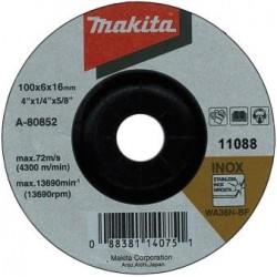 MAKITA B-49775 pružný brusný kotouč 115x4x22 nerez