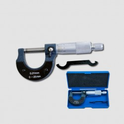 XTline Mikrometr 0.01mm 0-25mm