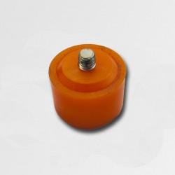 XTline Plastová koncovka oranžová 40mm