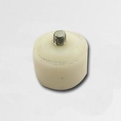 XTline Plastová koncovka bílá 40mm