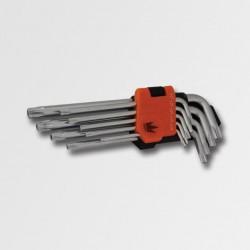 CORONA Sada torx s otvorem T10-T50 9 dílů (P16613)