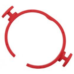 FLEX SH-FC 32 Clip-rychloupínací kroužek červený