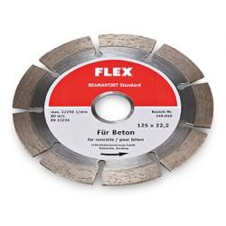 FLEX Diamantjet standard Ø125mm, diamantový řezací kotouč na beton