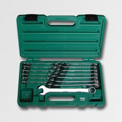 Sada očkopl. klíčů 6-19 14dílů plastový kufr