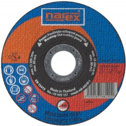 NAREX RK ø 115×1×22.2 A 60R-BFB INOX 41 - Řezný kotouč 2v1 pro řezání běžné a ušlechtilé oceli