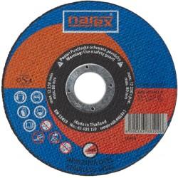 NAREX RK ø 125×1×22.2 A 60R-BFB INOX 41 - Řezný kotouč 2v1 pro řezání běžné a ušlechtilé oceli