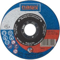 NAREX SET RK ø 125×1×22.2 A 60R-BFB INOX 41 - Řezný kotouč 2v1 pro řezání běžné a ušlechtilé oceli