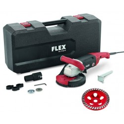 FLEX LD 18-7 150 R Silná sanační bruska 150mm, Kit Turbo-Jet
