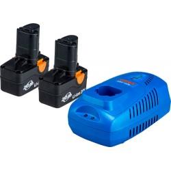 NAREX SET AP 204 - Set akumulátoru a nabíječky