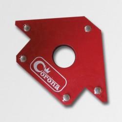 CORONA Magnet úhlový 110x110mm, 25kg