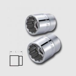Hlavice dvanáctihranná CRV 3/4'' 22mm