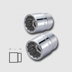hlavice dvanáctihranná CRV 3/4 23mm Honiton