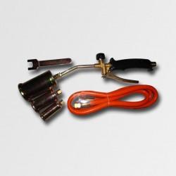 XTline Opalovací plynová souprava 3 nástavce 19,5KW hadice 1,5m