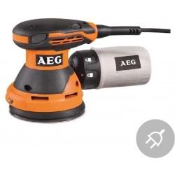AEG Elektrická excentrická bruska EX 125 ES, 300W, 125mm