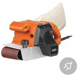 AEG Elektrická pásová bruska BBSE 1100, 1100W