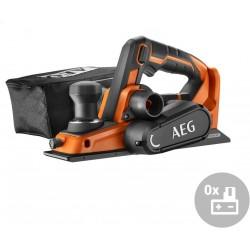 AEG Aku bezuhlíkový hoblík BHO 18BL-0, 18V
