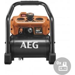 AEG Aku kompresor BK 18-38BL-0, 18V, bezuhlíkový, duální