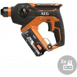 AEG Aku kompaktní kladivo SDS-Plus BBH 18C LI-202C, 18V