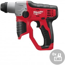 MILWAUKEE Aku kompaktní kladivo SDS-Plus M12 H-0, 12V
