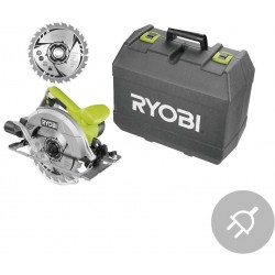 RYOBI Elektrická okružní pila s laserem RCS1400-K2B, 1400W, 190mm