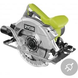RYOBI Elektrická okružní pila s laserem RCS1600-K2B, 1600W, 190mm