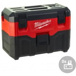 MILWAUKEE Aku vysavač mokré/suché vysávání M18 VC2-0, 18V