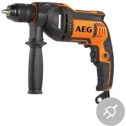 AEG Elektrická příklepová vrtačka SBE 705 R, 705W