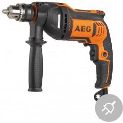 AEG Elektrická příklepová vrtačka SBE 750 RZ, 750W