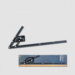 XTline Úhloměr 230x500 mm, 180