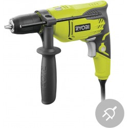 RYOBI Elektrická příklepová vrtačka RPD500-G, 500W