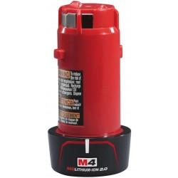 MILWAUKEE Akumulátor M4 B2, 4V, 2,0Ah