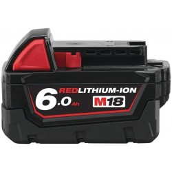 MILWAUKEE Akumulátor M18 B6, 18V, 6,0Ah