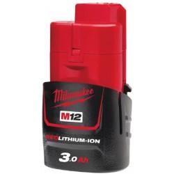 MILWAUKEE Akumulátor M12 B3, Li-Ion, 12V 3Ah