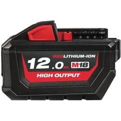 MILWAUKEE Akumulátor M18 HB12, 18V, 12,0Ah