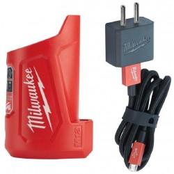 MILWAUKEE Elektrická kompaktní nabíječka M12 TC, do auta, 12V