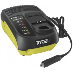 RYOBI Elektrická nabíječka RC18-118C, do auta, 18V