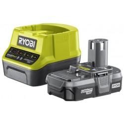 RYOBI Set akumulátor + nabíječka RC18120-113, 1x 18V/1,3Ah