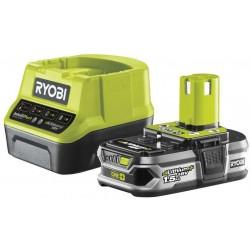 RYOBI Set akumulátor + nabíječka RC18120-115, 18V, 1x 1,5Ah