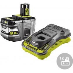 RYOBI Set akumulátor + nabíječka RC18150-190, 18V, 1x 9,0Ah