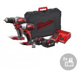 MILWAUKEE Aku powerpack M18 BPP2D-402C, 18V