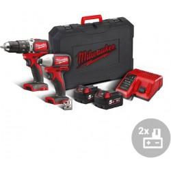 MILWAUKEE Aku powerpack M18 BLPP2B-502C, 18V
