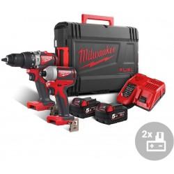 MILWAUKEE Aku bezuhlíkový powerpack M18 BLPP2A2-502X, 18V