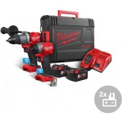 MILWAUKEE Aku powerpack M18 ONEPP2A2-502X, 18V